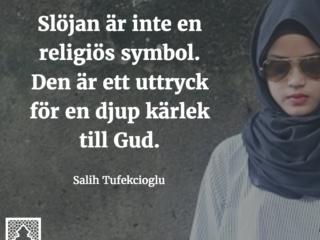 Slöjan är inte en religiös symbol